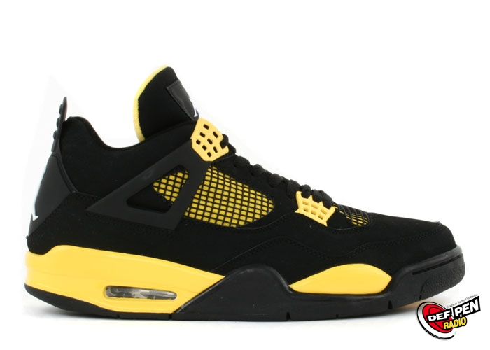 UPDATE: Thunder Air Jordan 4   Confirmed