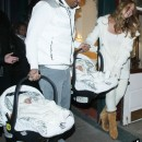 Mariah Carey And Nick Cannon Show The Twins Aspen!
