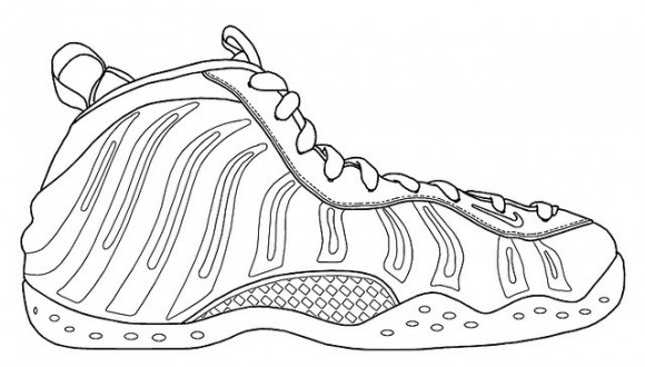 Kd Shoes Coloring Pages | Coloring Page