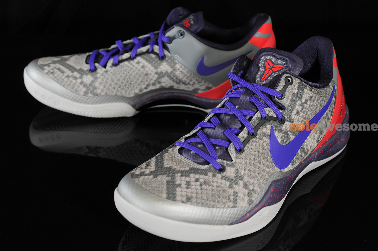 timeless design 9f6fe 0e10a Kobe 8 Elite Womens Team Orange Wolf Grey Silver