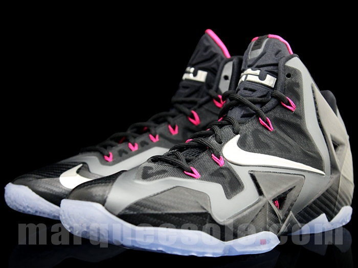 """the best attitude 691e0 a8a85 Nike LeBron XI """"Miami Nights"""" – Detailed Pictures"""
