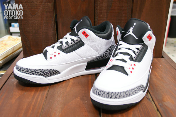 "6ca4061ee64 ... say was disappointing news about the ""Katrina"" color way of the Air  Jordan III Retro not retiring to release but instead this ""Infrared 23""  color way."