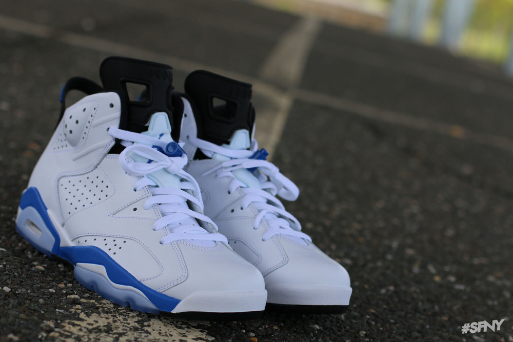 "quality design 4af01 ff042 Air Jordan 6 Retro ""Sport Blue"" - New Detailed Pictures"