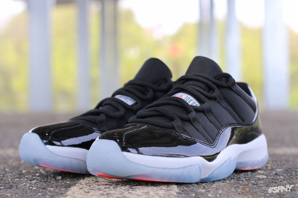 """e6ff36d4ac7c14 Air Jordan 11 Retro Low """"Infrared 23"""" - New Detailed Pictures"""