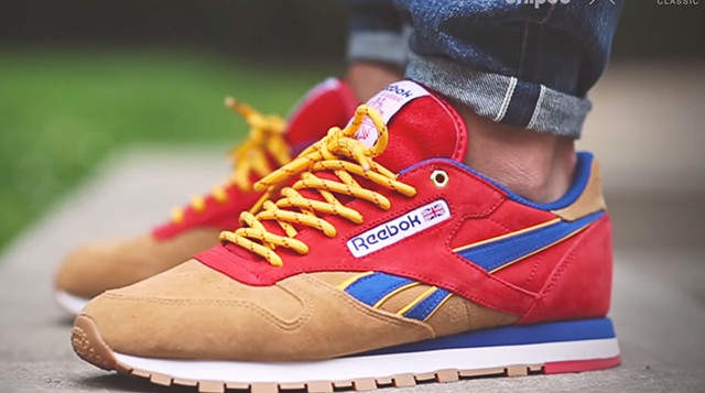 low priced e54db 3bb38 Snipes x Reebok Classic Leather 'Camp Out' - Release Date