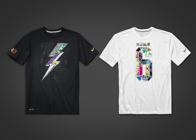 new arrival 1a416 3cb32 Nike KD 6   LeBron 11  What The  T-Shirts