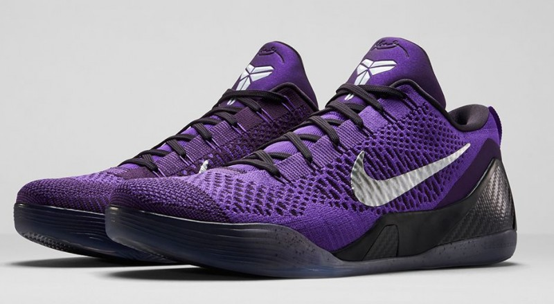 separation shoes 9e990 f6f82 Michael Jackson inspired is this new Nike Kobe 9 Elite Low  Hyper Grape .  We all know the majority of these colorways for Kobes 9th signature is  heavily ...