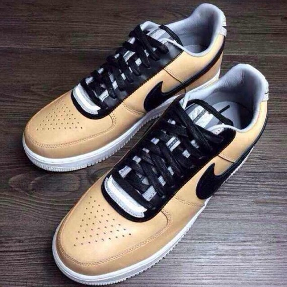 info for 2773e 4b1c5 Riccardo Tisci x Nike Air Force 1 RT 'Tan' - Detailed Pictures