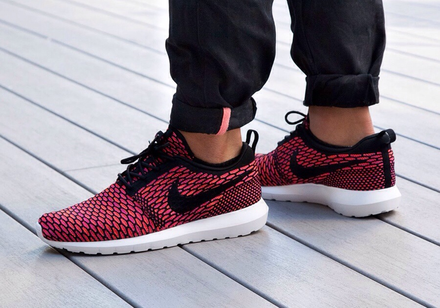 new arrive 04dc8 19f5d Nike Roshe Flyknit – On Feet Pictures