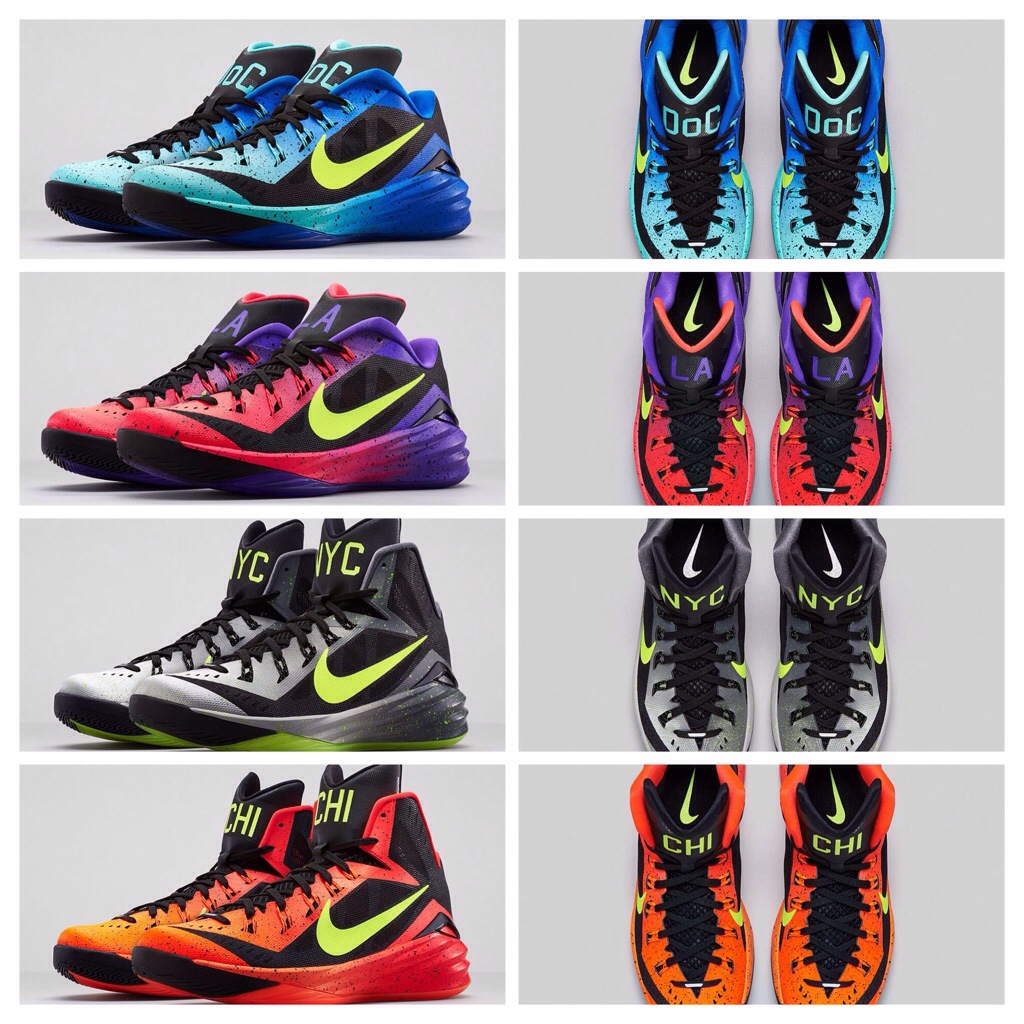 best service 1f9c6 4dc7f Nike Hyperdunk 2014 City Collection – Foot Locker Release Details