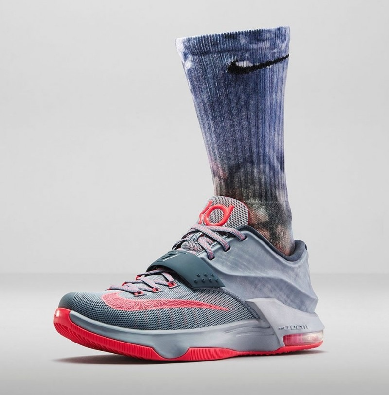 info for 05742 2dc7c Nike KD 7  Calm Before The Storm  - Foot Locker Release Details