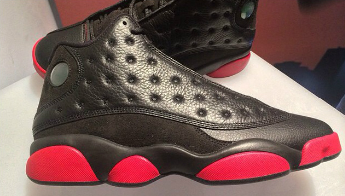 sale retailer b7ee0 4cdc4 Air Jordan 13 Retro  Black Red  - December 2014