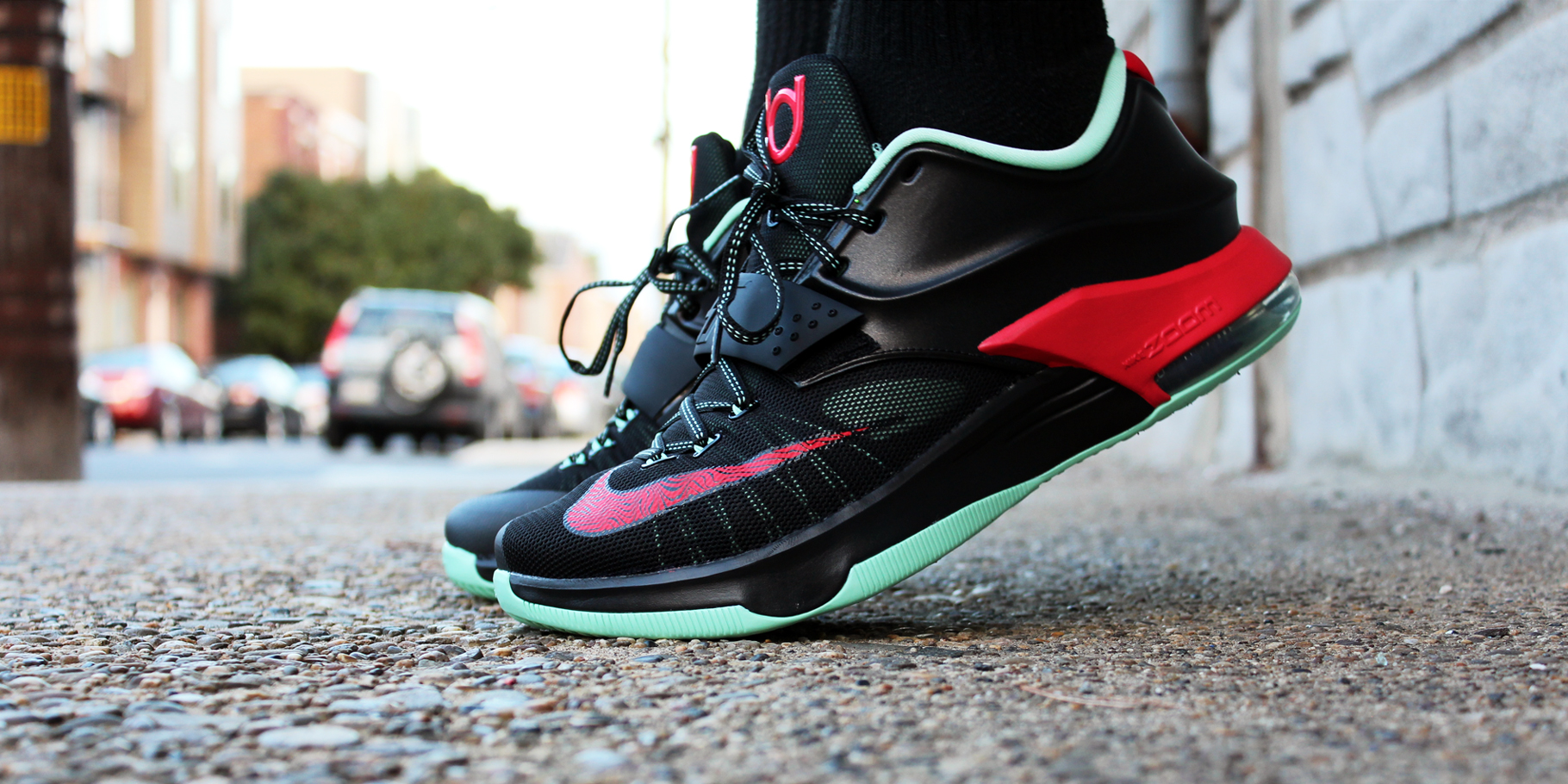 """timeless design d1bad 53798 If you need a pair the """"Good Apples"""" Nike KD 7 release Saturday at VILLA  in-store and online for  150."""