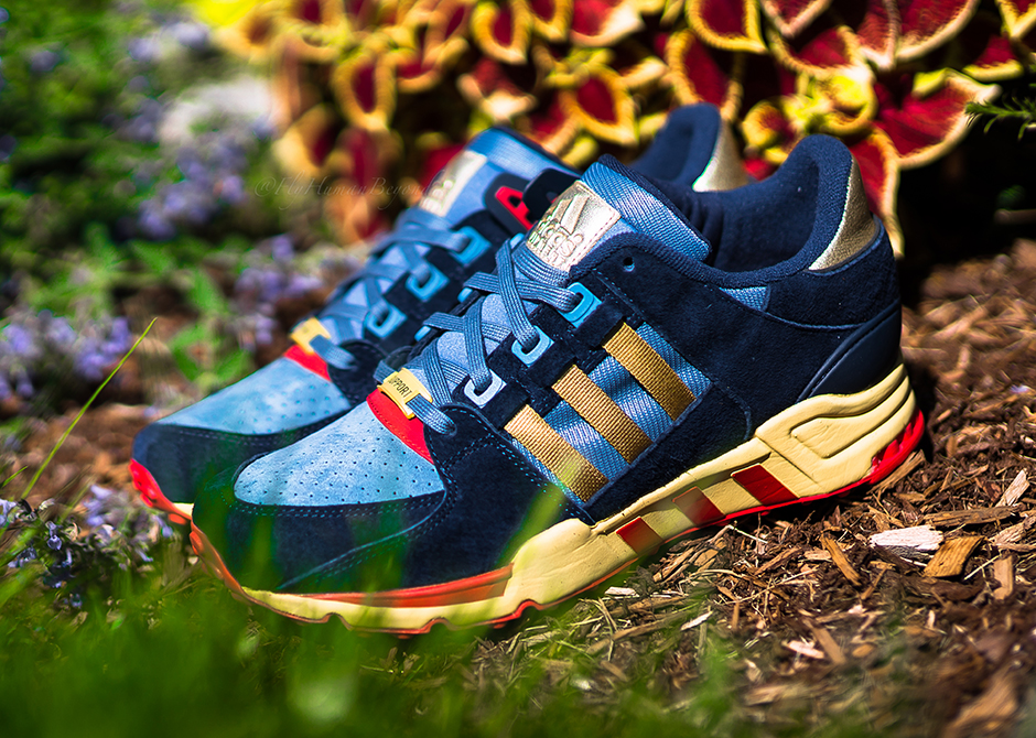 best loved 8ca33 9d06e Check out the latest collaboration for the Packer Shoes x adidas Originals  EQT Support 93  SL80  which marks yet another one under Packer Shoes belt  along ...