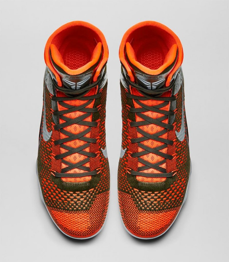 sports shoes be9a4 1dbcd With a virtually seamless, formfitting Flyknit constructed upper, the  innovative and ultralight Nike Kobe 9 Elite moves naturally with your foot  while ...
