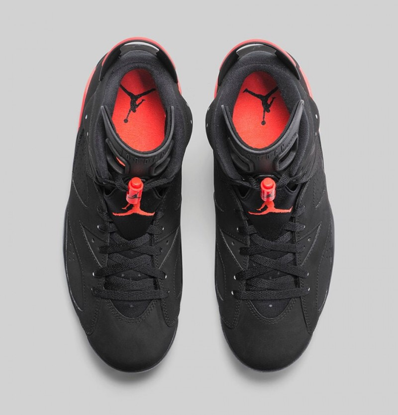 c1c61a2dde86 Air Jordan 6 Retro  Black Infrared 23  - Foot Locker Release Details