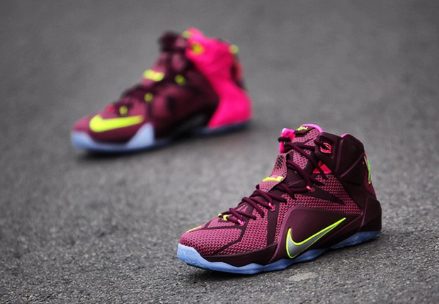 eea17d669387 Nike LeBron 12  Double Helix  - Detailed Pictures