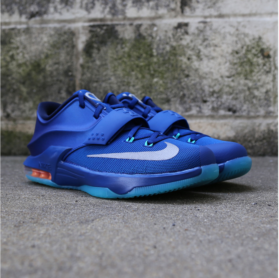 100% authentic b85fe 12b01 Nike KD 7 GS 'Gym Blue' - VILLA Release Details | Def Pen