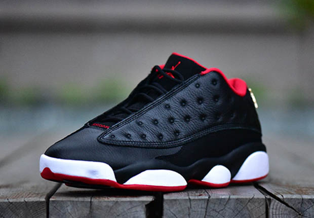 buy popular abd37 19378 Air Jordan 13 Retro Low 'Bred' - Detailed Pictures | Def Pen