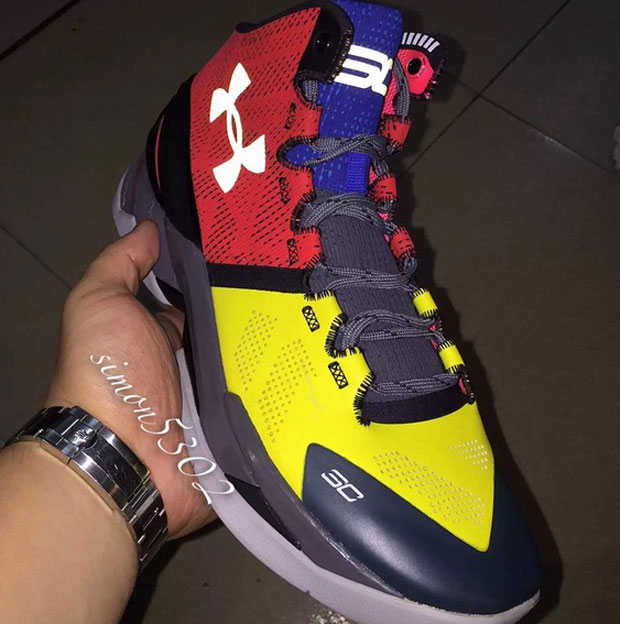 dcbbfe09892 Is This A First Look At The Under Armour Curry Two