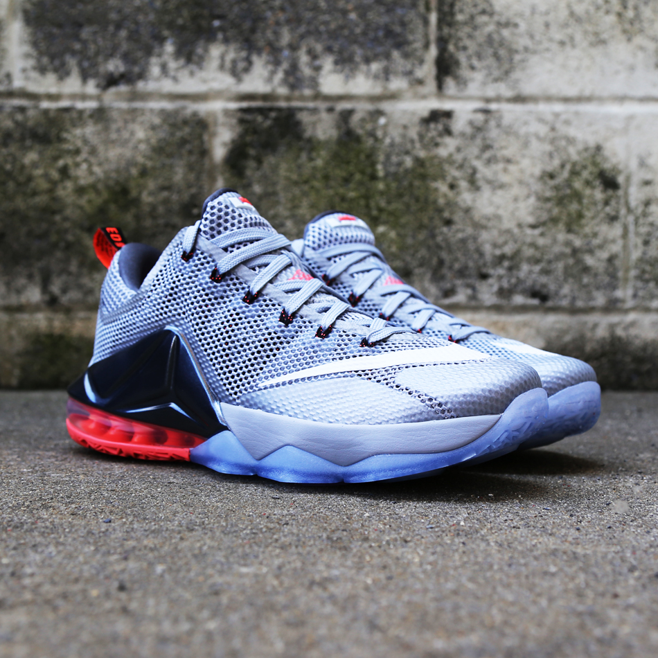 save off db469 984e9 Nike LeBron 12 Low 'Wolf Grey' - VILLA Release Details | Def Pen