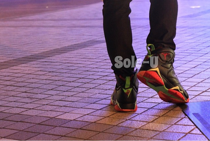 outlet store b3f0a 3baf0 Air Jordan 7 Retro  Marvin The Martian  ...