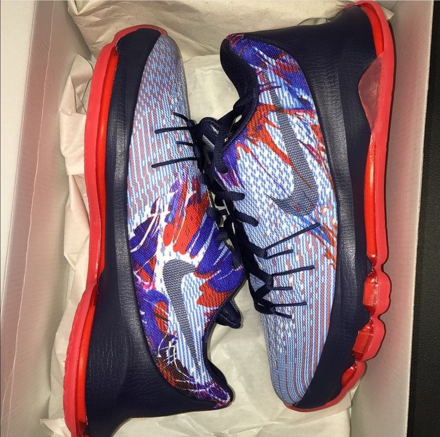 factory price ab9cf 43e8e Nike KD 8 'Independence Day' - Release Date | Def Pen