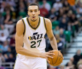 Utah Jazz center Rudy Gobert (27)