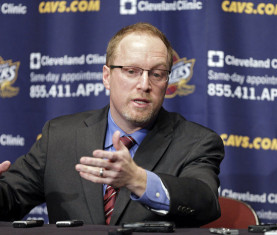 Cleveland Cavaliers general manager David Griffin