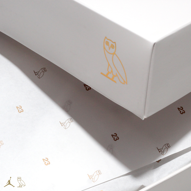 the best attitude bc9e1 27ac5 Drake s Air Jordan 10 Retro  OVO  Packaging   Def Pen