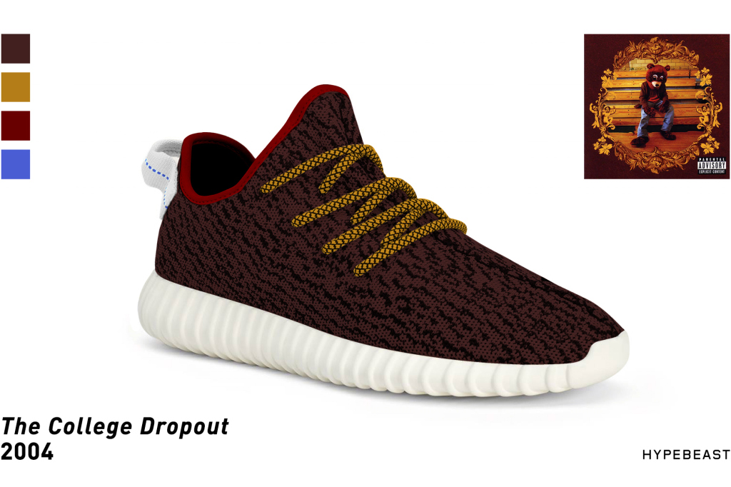 8c66d9bfdce adidas Yeezy 350 Boost Inspired by Kanye West Albums