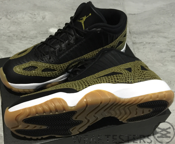 finest selection 013d1 f10ce Air-Jordan-11-IE-Low-Retro-Croc-Release-