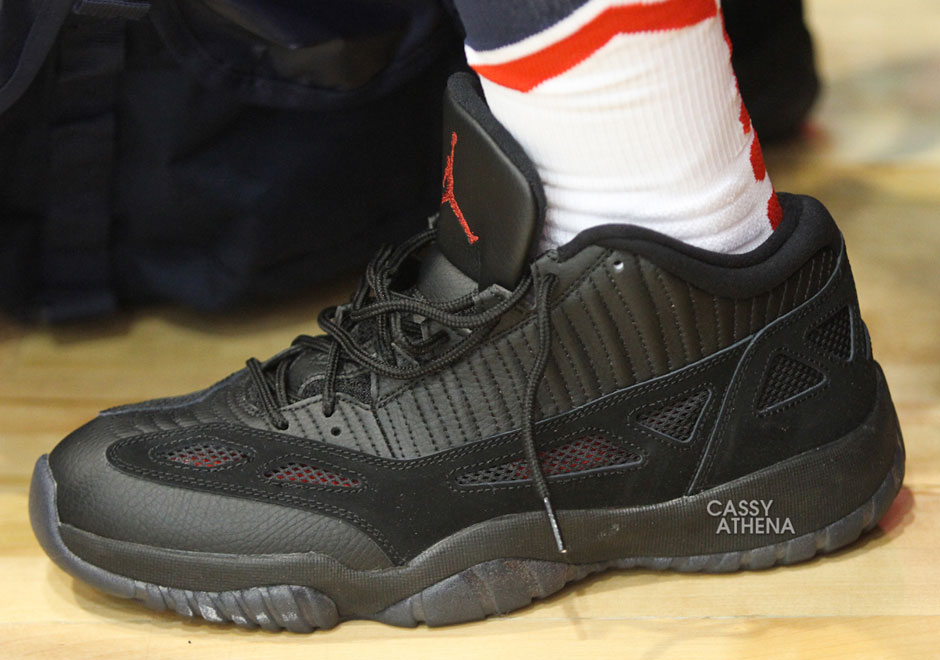 f1eb9e9a377 Chris Paul Wears Air Jordan 11 Low IE 'Referee' PE, Are They Going ...