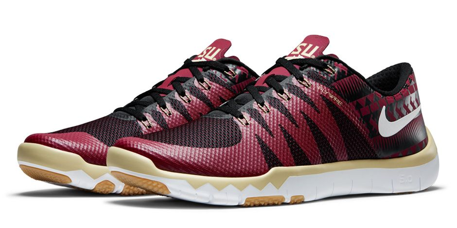 buy popular 12aa7 9898f image (4) image (5). Nike Free Trainer 5.0 V6  Florida St. Seminoles  Team  Gold Team ...