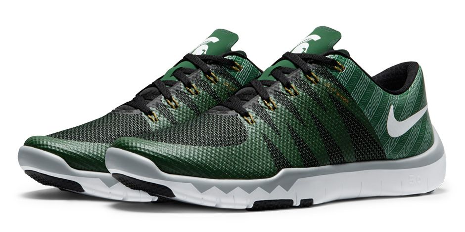 0d97f9ace765 image (8) image (9). Nike Free Trainer 5.0 V6  Michigan State Spartans  Pro  ...