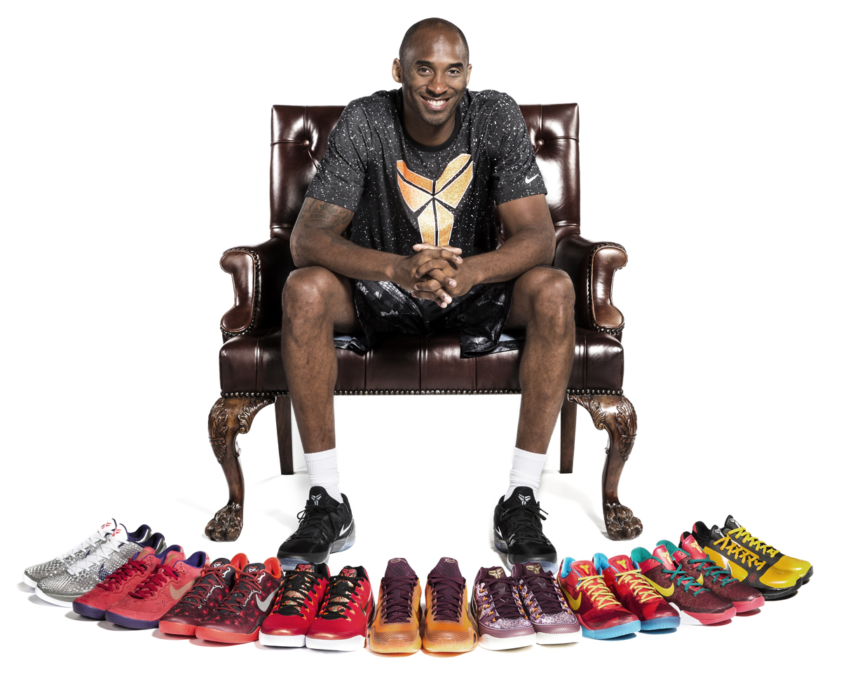 239a332402d4 Kobe Bryant Shows Off His Nike Kobe  China  Inspired Sneakers