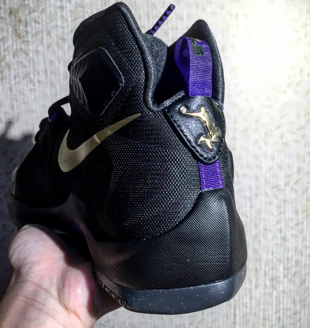 1963577a99c57a Nike LeBron 13  Black Purple-Gold