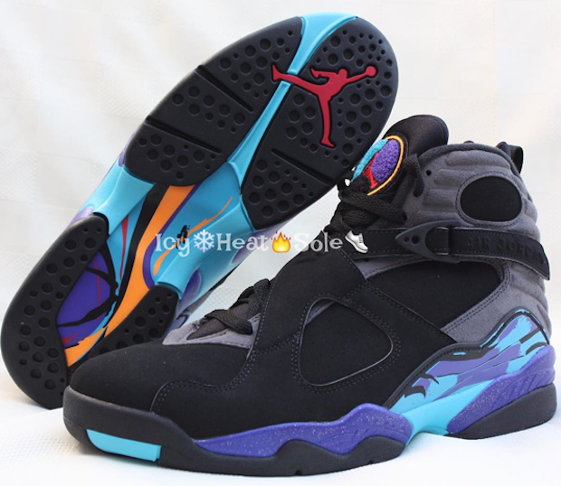 f733b244a9d First Look At 2015 Air Jordan 8 Retro 'Aqua' | Def Pen