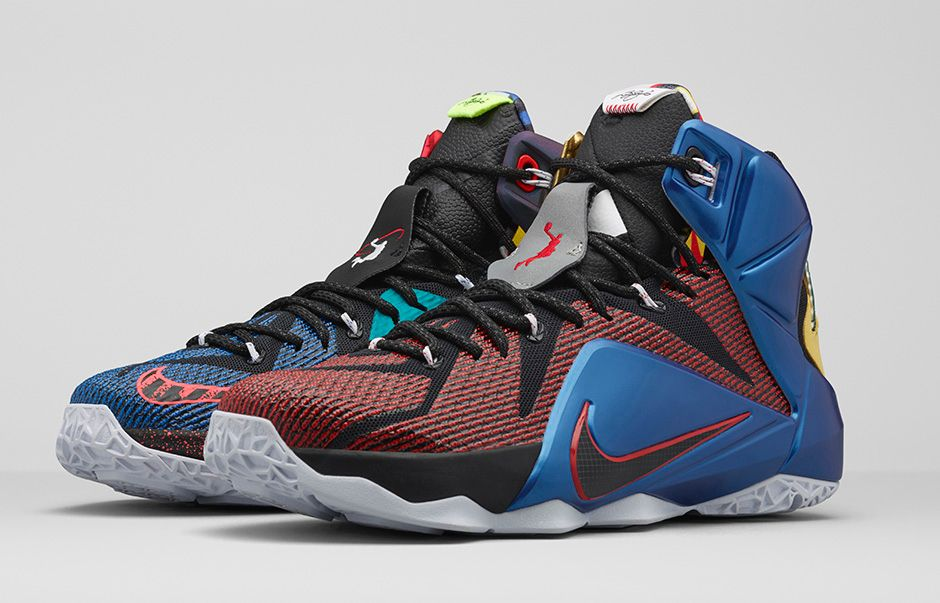 d842ad17300 Nike LeBron 12  What The  - Nike Store Release Details