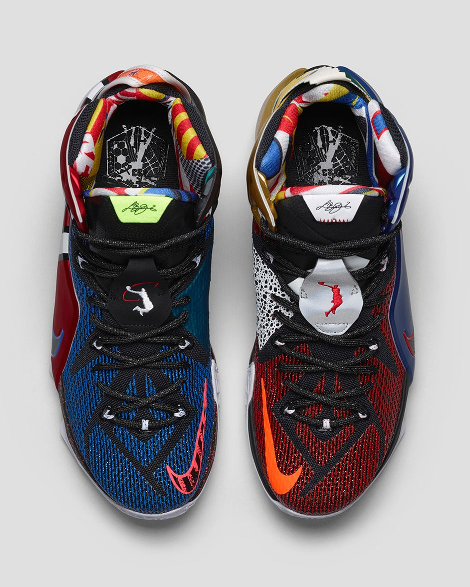 082ec917102 Nike LeBron 12  What The  - Nike Store Release Details