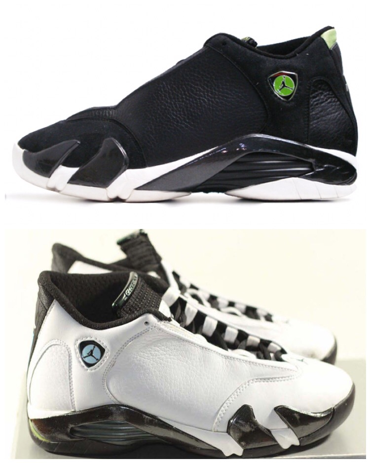 a04e8b9d4ffd23 Air Jordan 14 Retro  Indiglo     Oxidized Green  Returning In 2016 ...