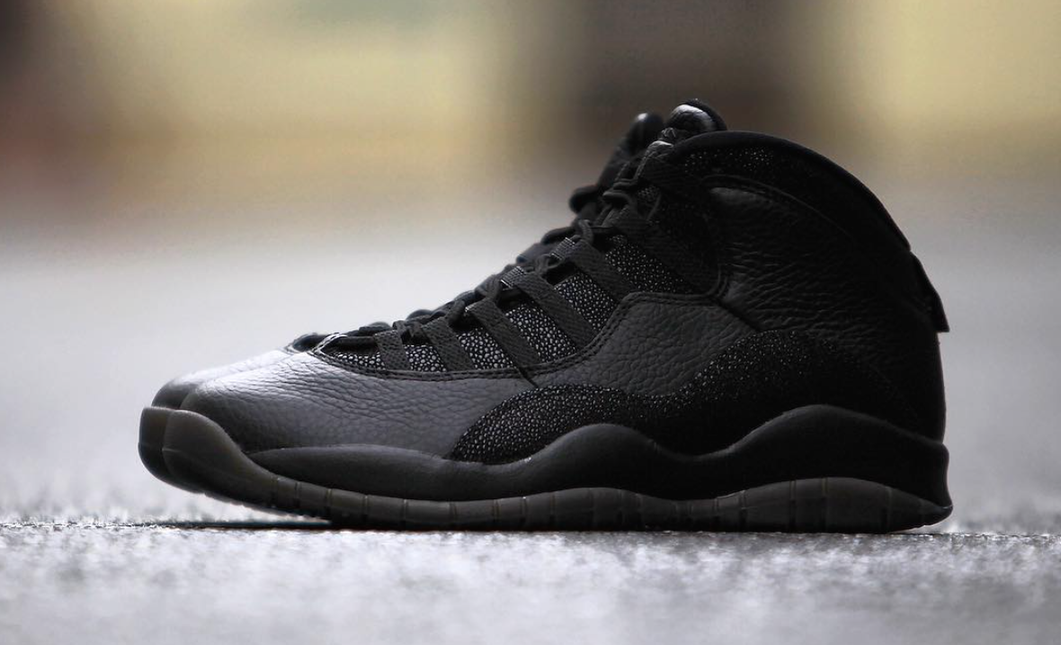 dffa191fc6e There's A Release Date For The Air Jordan 10 OVO 'Black' | Def Pen