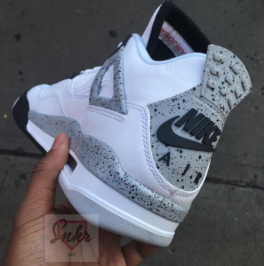 Air Jordan 4 Ciment Gris 2016 Jeep