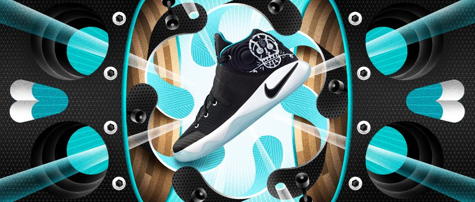 uk availability 14478 57a6b Telling the story of their signature shoe athletes has always been a staple  for Nike Basketball. With this upcoming Kids  Court Motion pack the story  lines ...