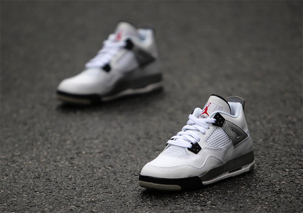 uk availability 0de1f 1118b kids-nike-air-jordan-4-white-cement-3