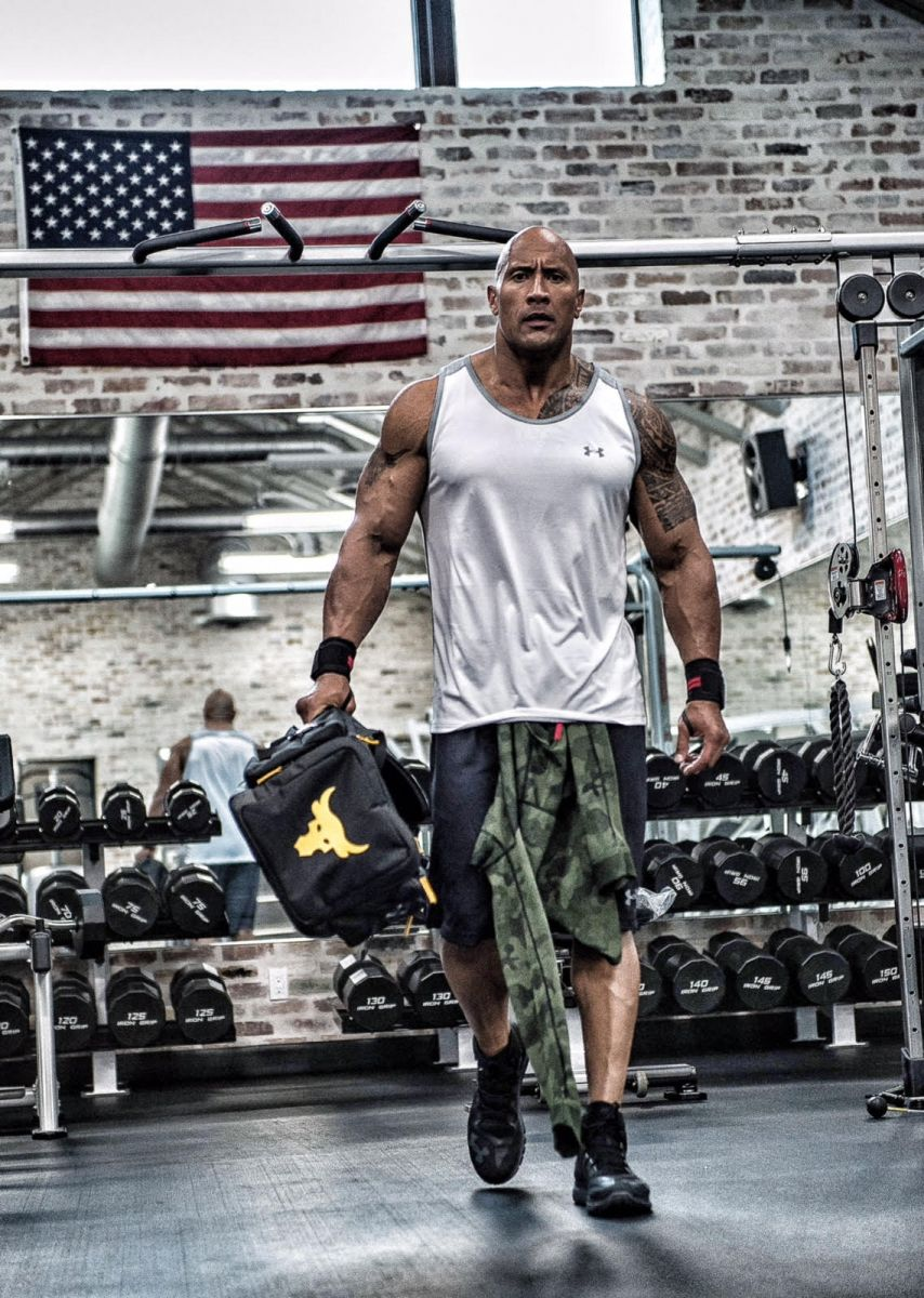 under armor the rock