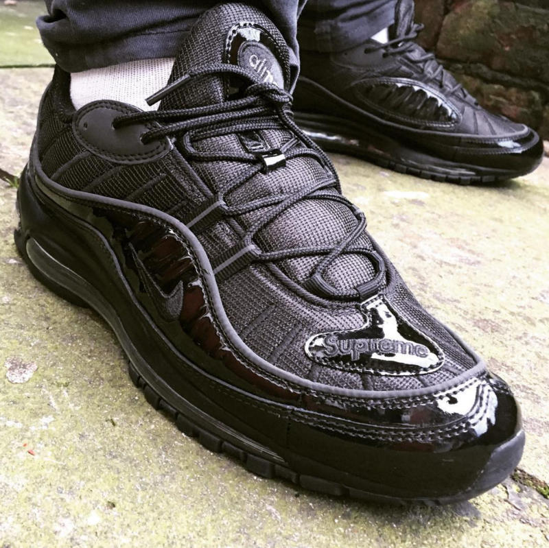 buy online faed5 51e23 Supreme x Nike Air Max 98 Collaboration Expected To Release ...