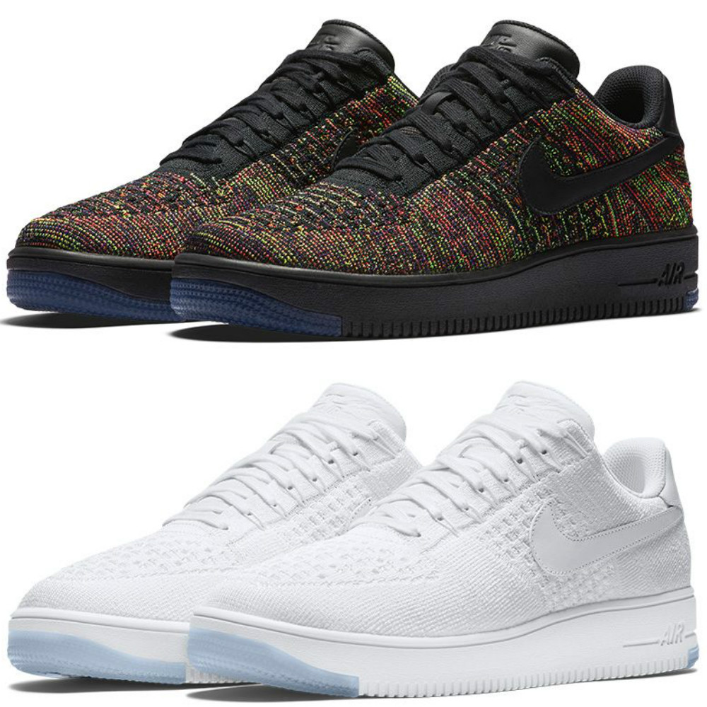 new product e80ef 7fc2a Nike Air Force 1 Ultra Flyknit Low Has Two Colorways ...