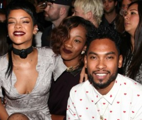 Miguel and Rihanna