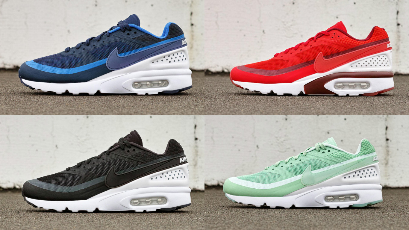 four colorways releasing for the nike air max bw ultra def pen. Black Bedroom Furniture Sets. Home Design Ideas